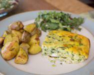 Crispy Roasted Herbed Potatoes