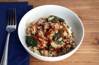 Vegan BBQ Bowl with Farro