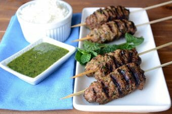 Middle Eastern Beef Kabobs
